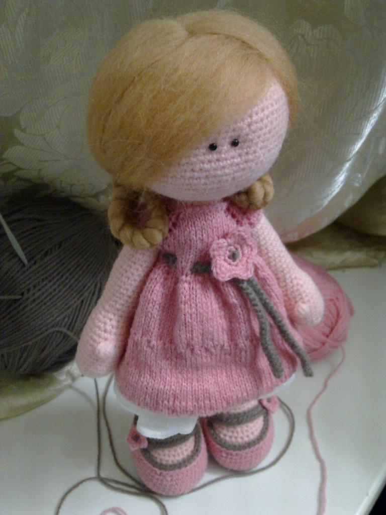 Вязаная кукла тильда спицами мастер класс