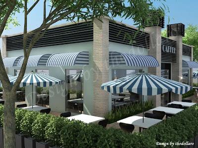 Coffee Shop Outside Design - Home Designs