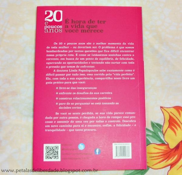 sinopse, Resenha, livro, 20 e poucos anos, Linda Papadopoulos, Gente, quotes, trechos, opinião, feminismo, e-book