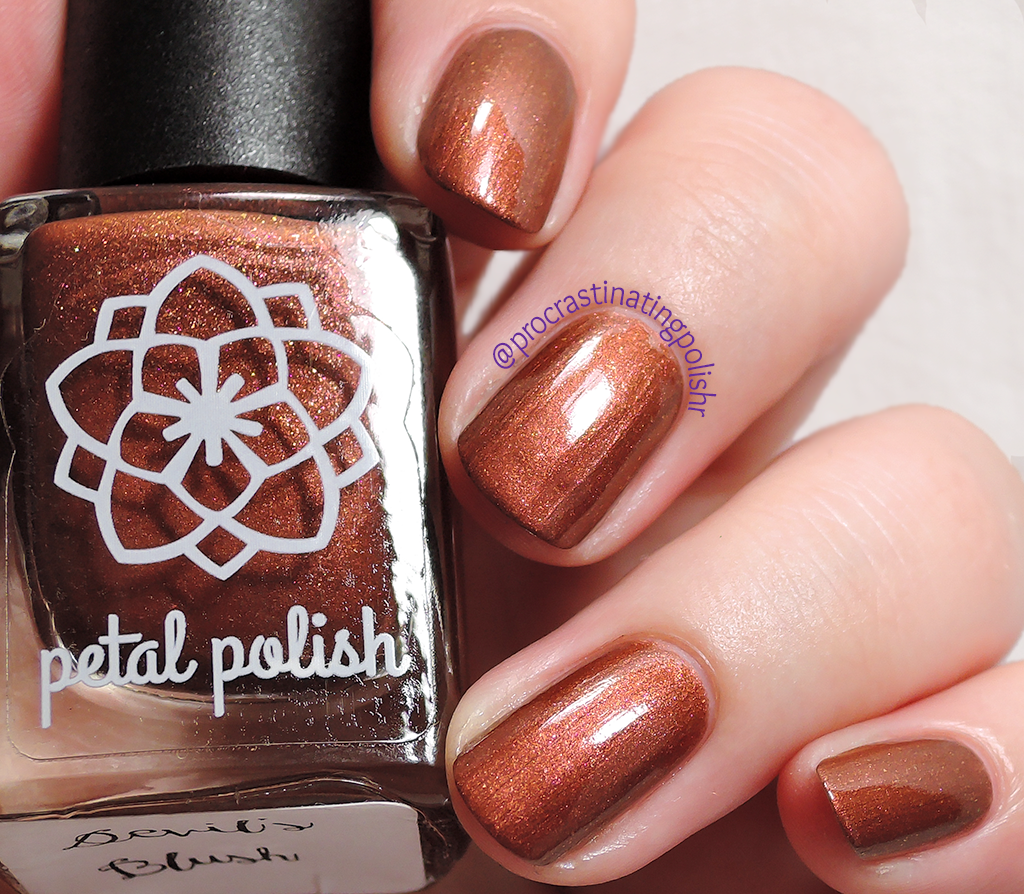 Petal Polish - Devil's Blush
