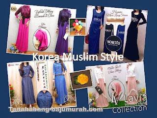 Grosir Baju Muslim Model Gaya Korea