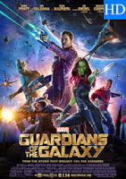 Poster de Guardianes de la Galaxia del 2014