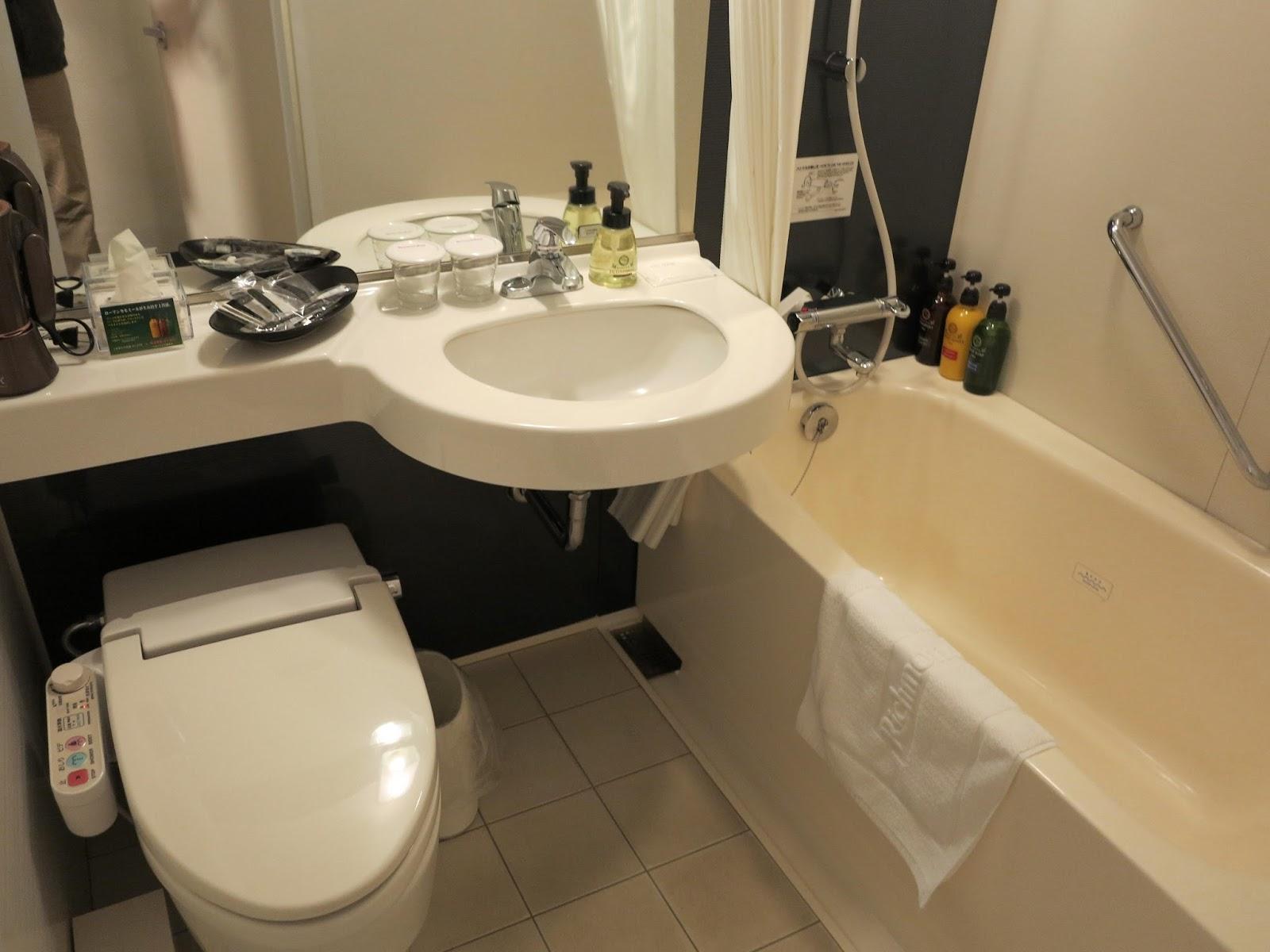 Richmond Hotel Kagoshima Tenmonkan Unit Bath