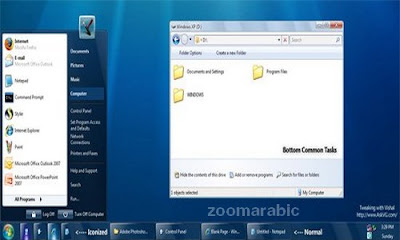 Windows 7 Update for XP Theme