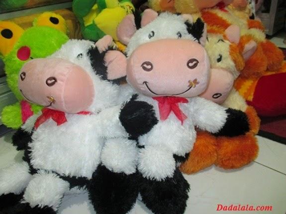 Jual Boneka Sapi Hitam Putih, Imut dan Lucu Banget, Harga Murah