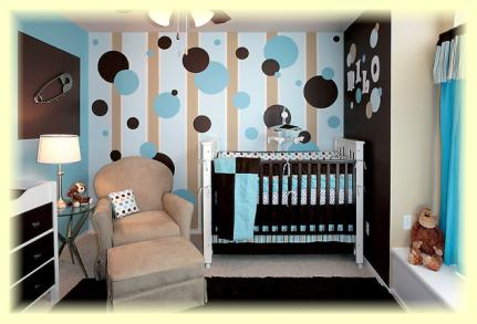 decorating ideas for sharing a room with baby