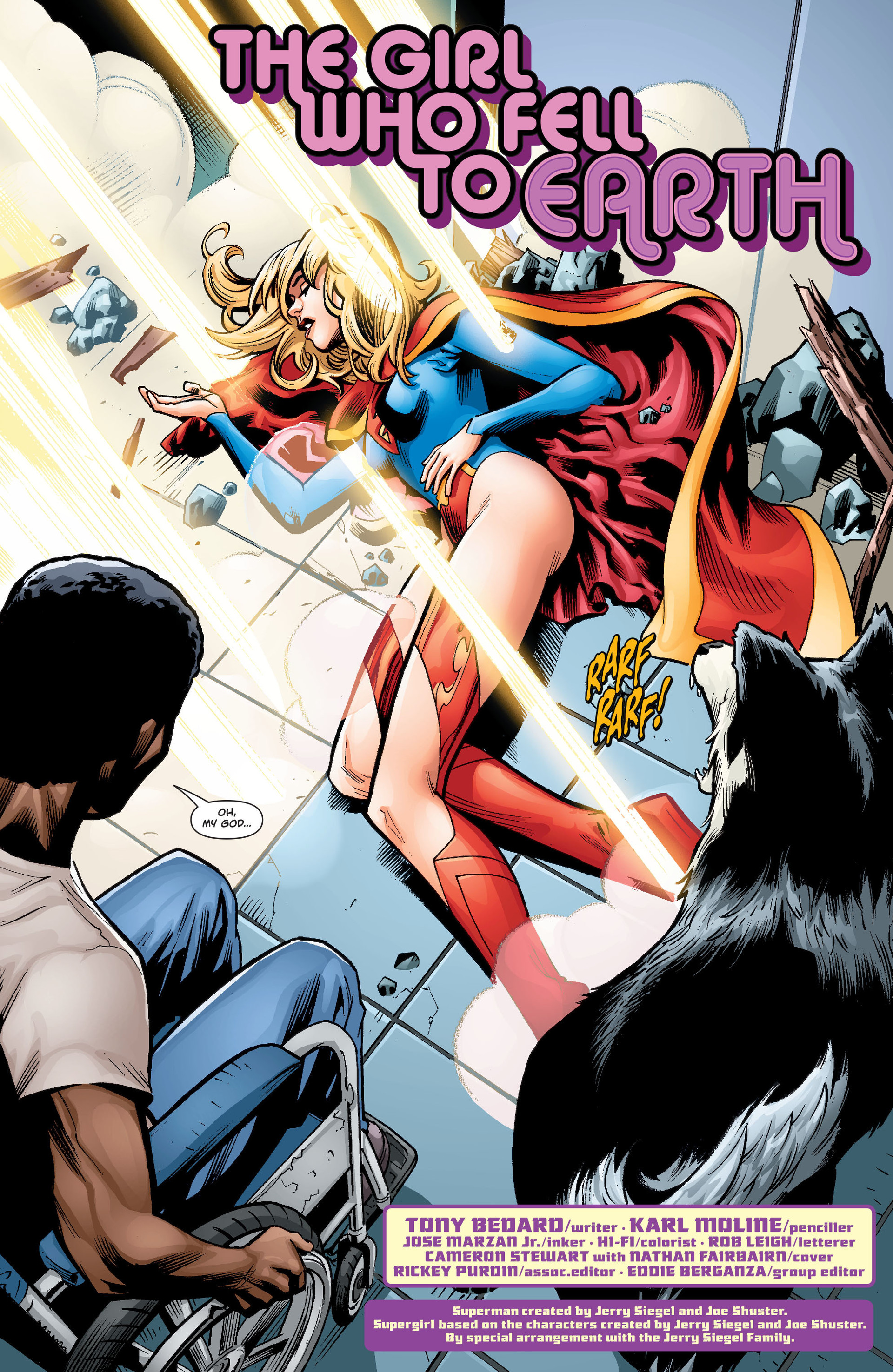 Supergirl (2011) Issue #34 #36 - English 3