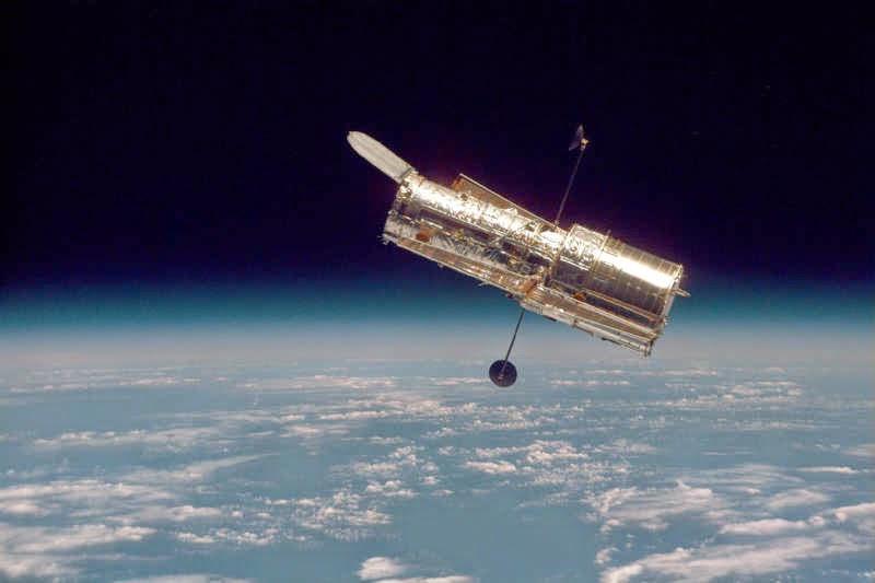 Dengan perhitungan sederhana teleskop terbukti mampu memotret
