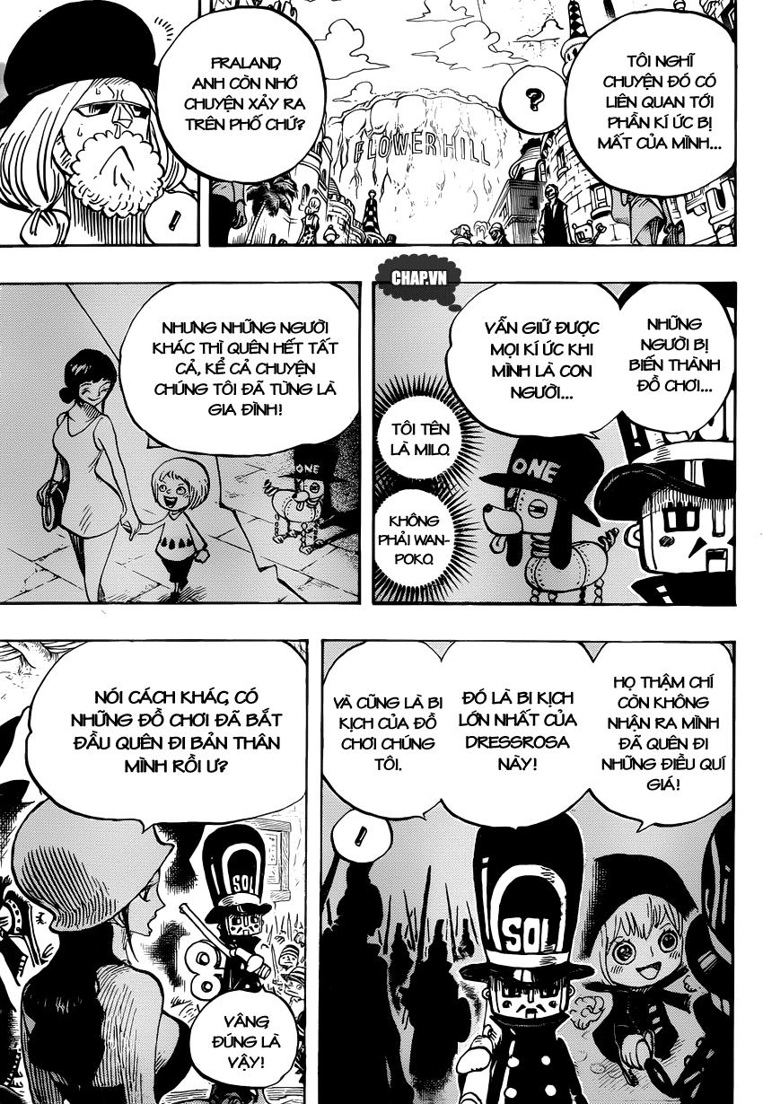 One Piece Chapter 728: Bi kịch 013
