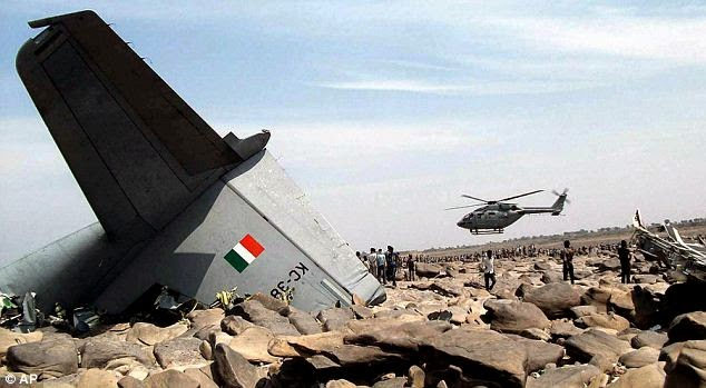 Indian C-130J Super Hercules plane Crash