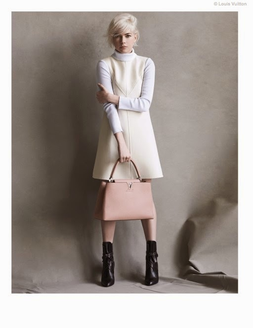 Louis Vuitton Capucines Handbag Campaign 2014 featuring Michelle Williams
