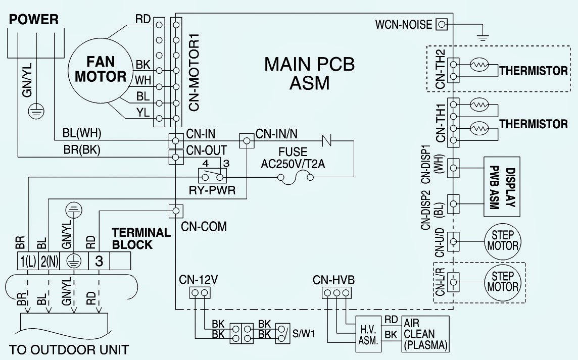 lg wiring diagram  models  as w096e1g0  u2013 as w126e1g0  u2013 as