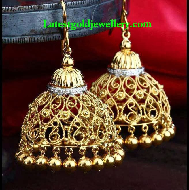 Latest Gold Jewellery Designs Gold Earrings