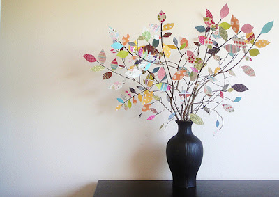 decorar con hojas de paple