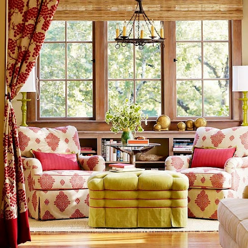 Charming Corner With Warm Hues A Kitschy Touch To A Teen Room