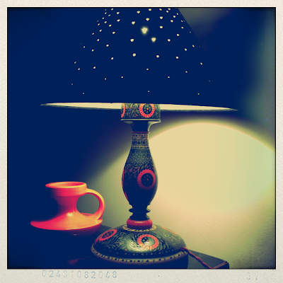 Brick Lane London Market Find Retro Vintage Lamp