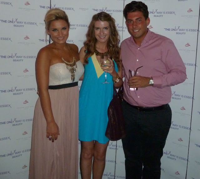 TOWIE Beauty Fragrance Launch