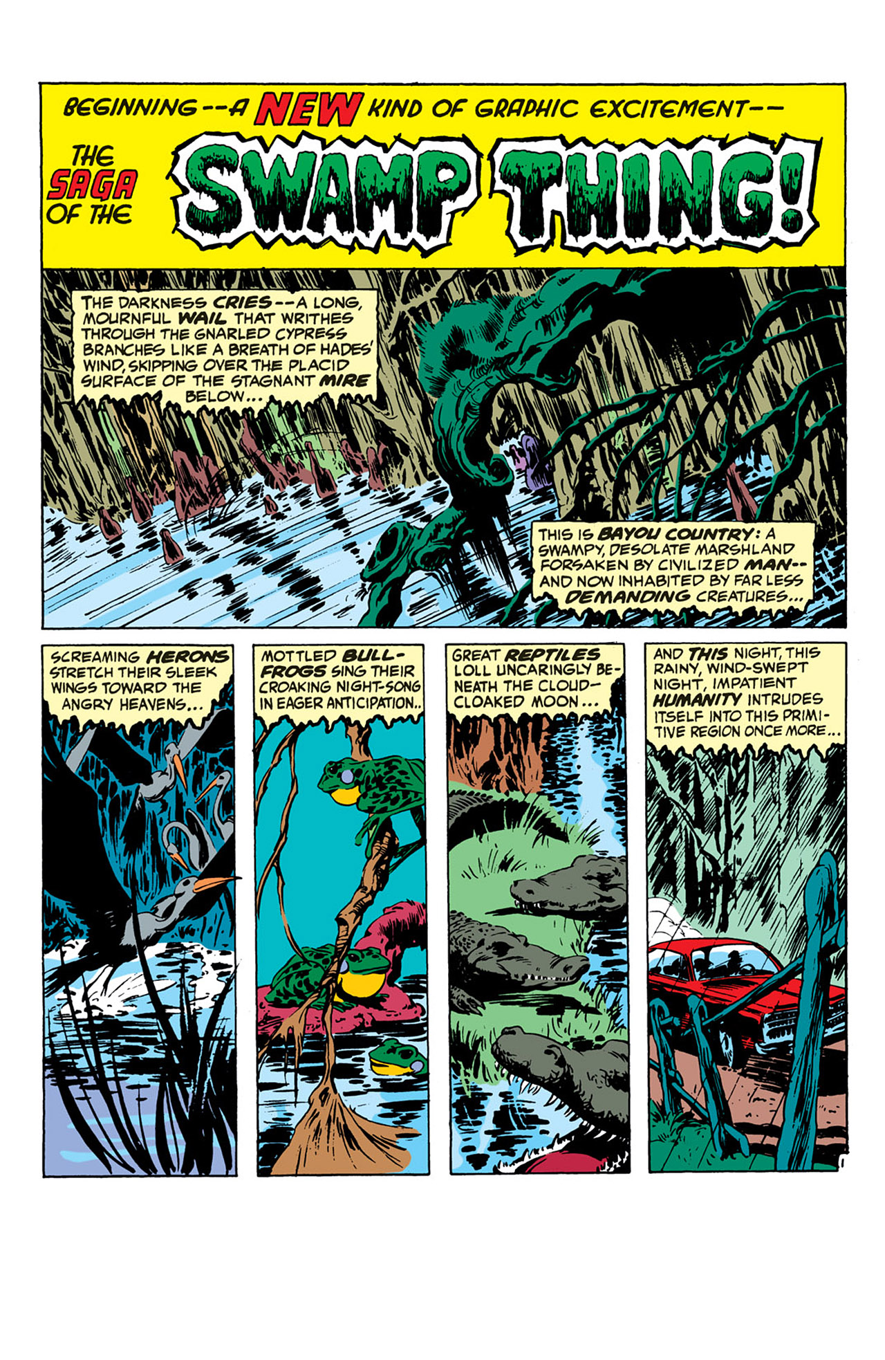 Swamp Thing (1972) Issue #1 #1 - English 2