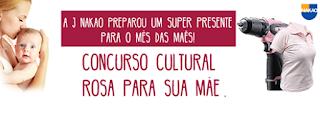 """Concurso Cultural """"Rosa para sua mãe""""  - A J Nakao"""