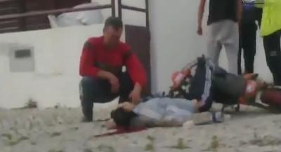 Vídeo do jovem morto pela policia na Bela Vista