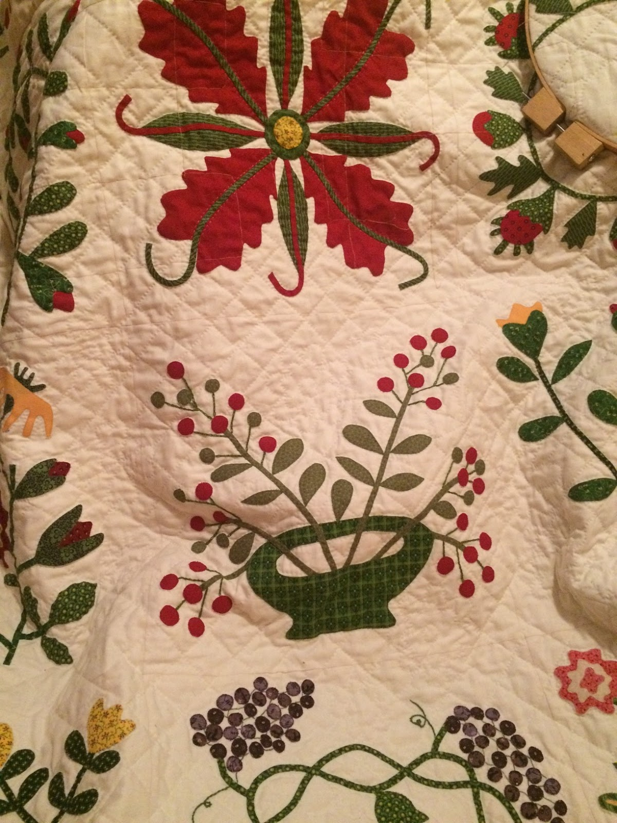 Humble Quilts: Winter Hand Quilting