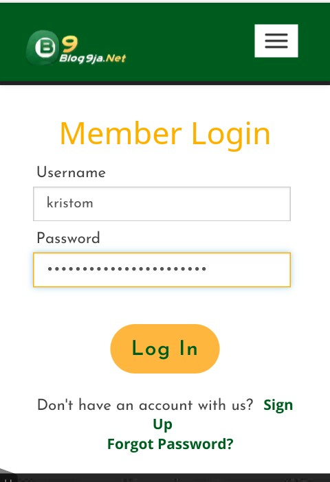 blog9ja login