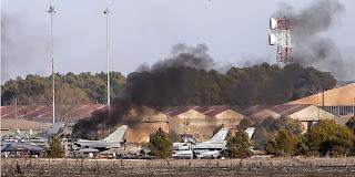 Crash du F-16 en Espagne : l'avion a eu une panne au décollage