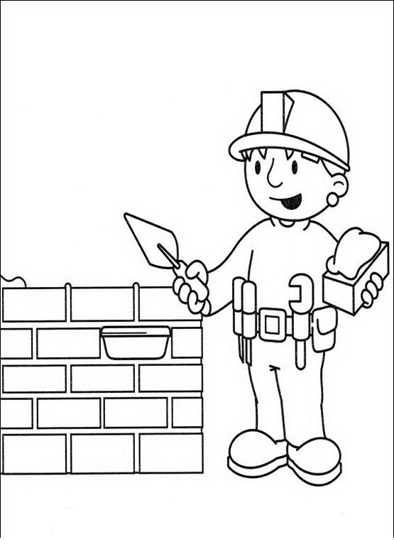 Blog MegaDiverso: Para imprimir y pintar a Bob el Constructor