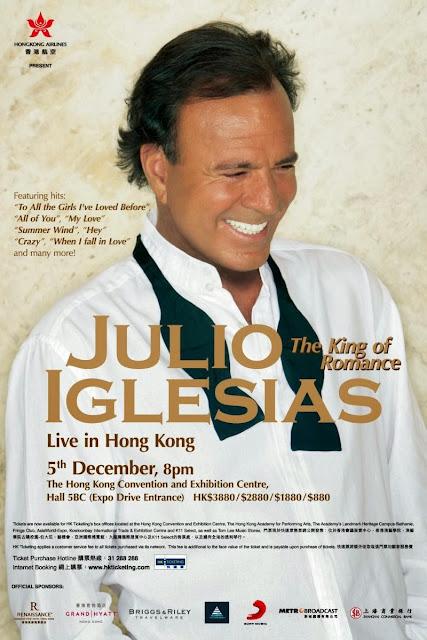 Julio Iglesias Hong Kong