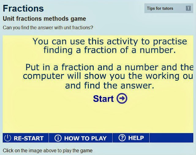 http://www.bbc.co.uk/skillswise/game/ma17frac-game-unit-fractions-method