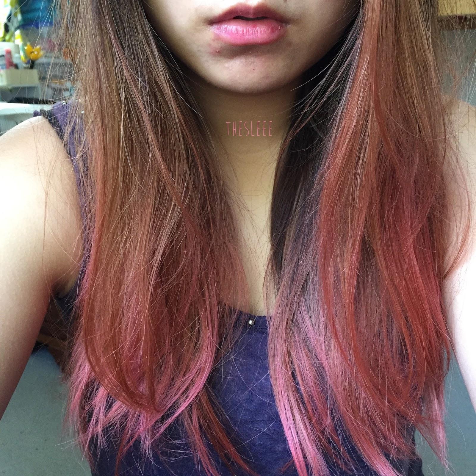 The Sleee Review Brite Organix Semi Permanent Pastel Pink