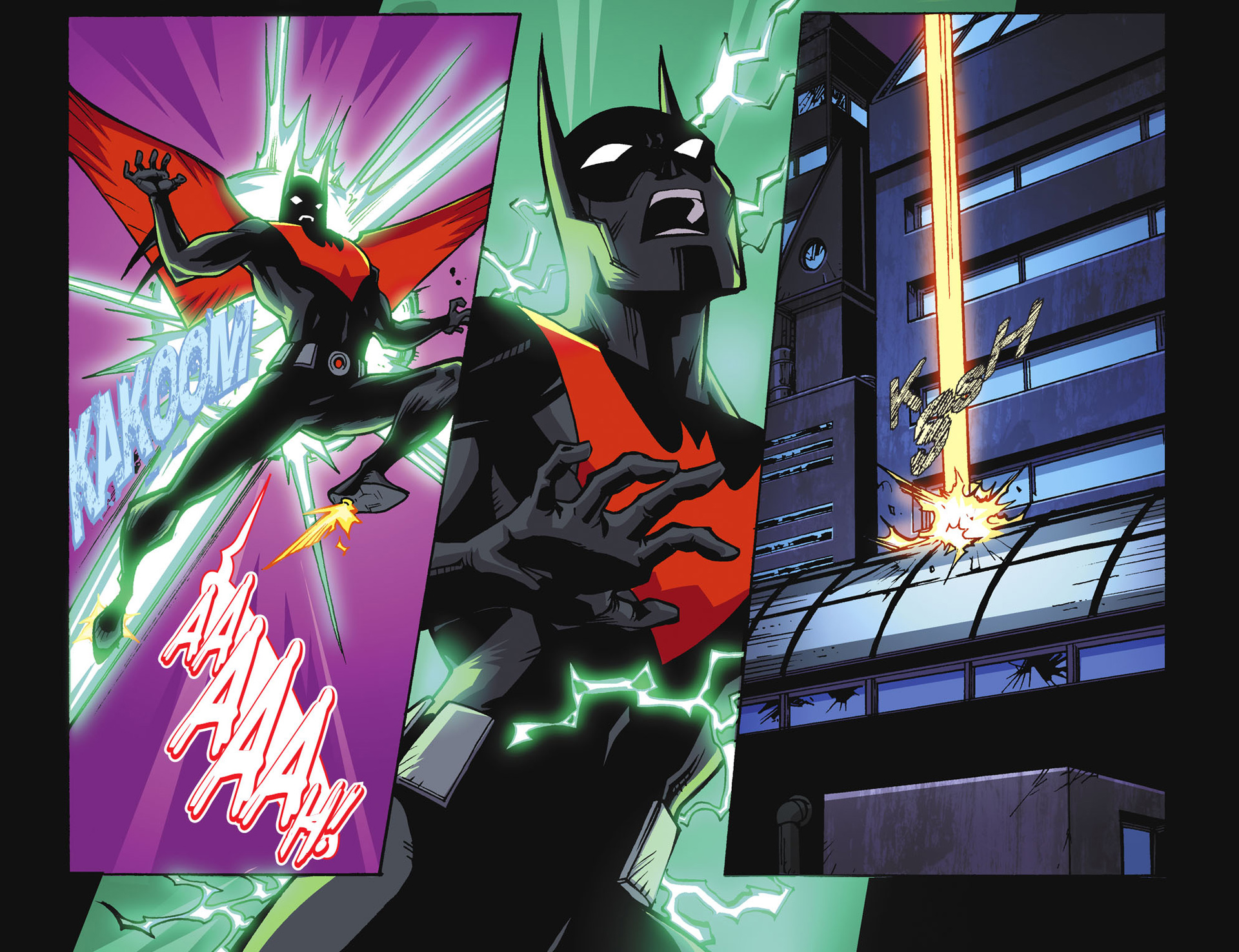 Batman Beyond 2.0 #18 #23 - English 10