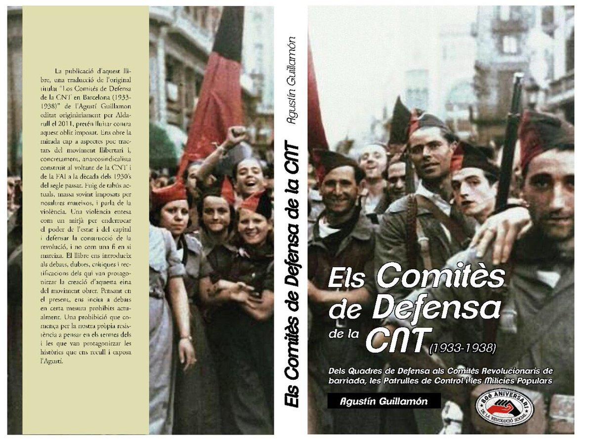Publicació del llibre 'Els Comitès de Defensa de la CNT'