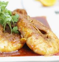 Resep Seafood Udang Saus Tiram Pedas Nikmat