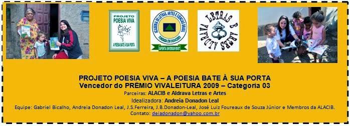 PONTO DE LEITURA ITINERANTE - Membros da ALACIB e Poetas Aldravistas