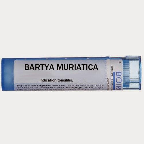 BARYTA  MURIATICA  - பரைடா மூரியாடிகம்