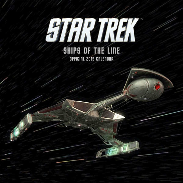 Calendario 2015 Naves Star Trek