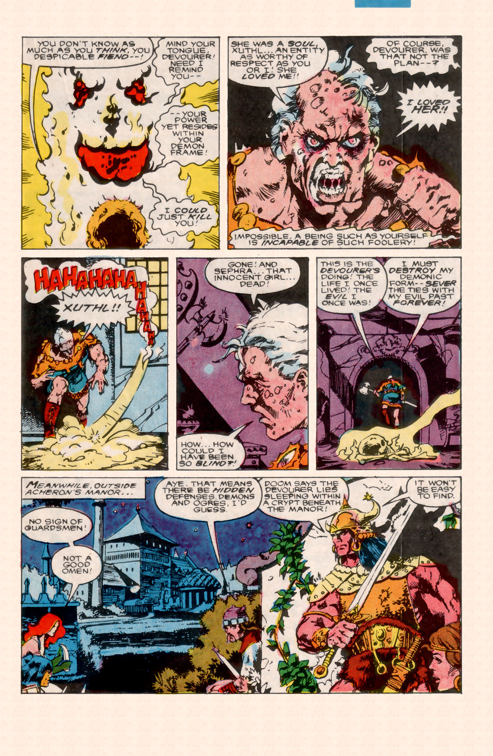 Conan the Barbarian (1970) Issue #200 #212 - English 27