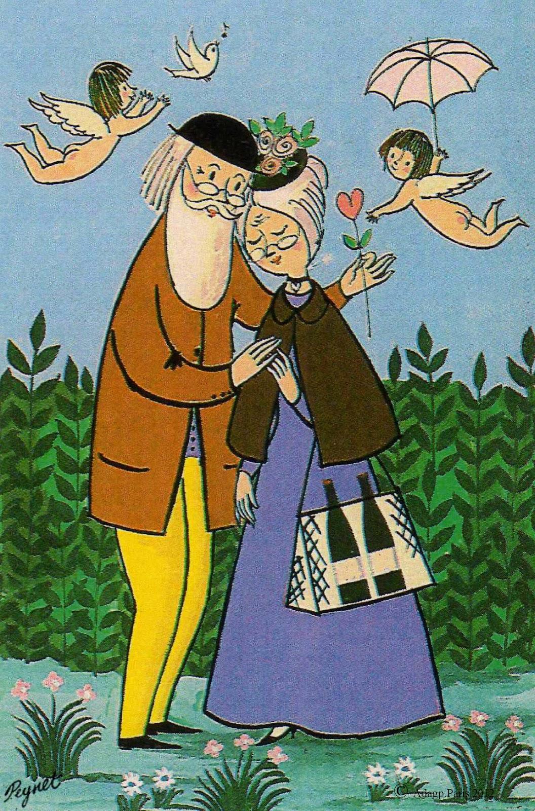 La saint valentin avec les amoureux de peynet - Les amoureux de la cuisine ...