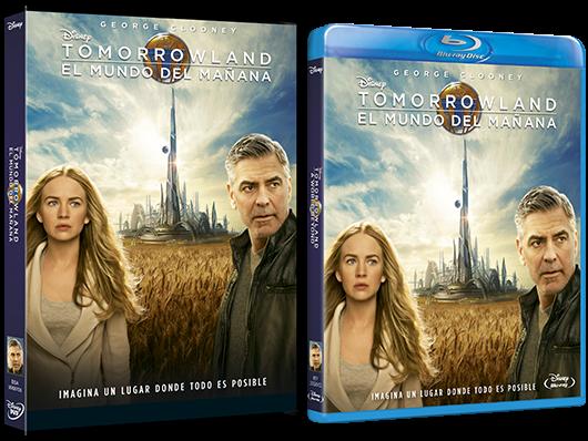 A la venta 'Tomorrowland: El mundo del mañana' en DVD y Blu-ray