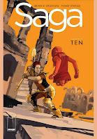 Saga #10 Cover
