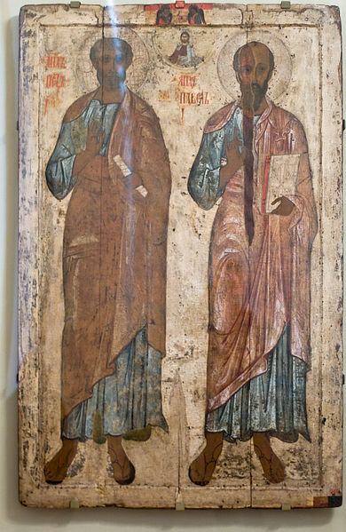 Saint-Pierre et Paul Apôtres dans images sacrée PETER+AND+PAUL