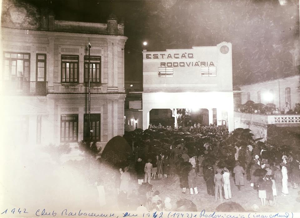 Inauguração do Primeiro Terminal Rodoviario de Barbacena 1942