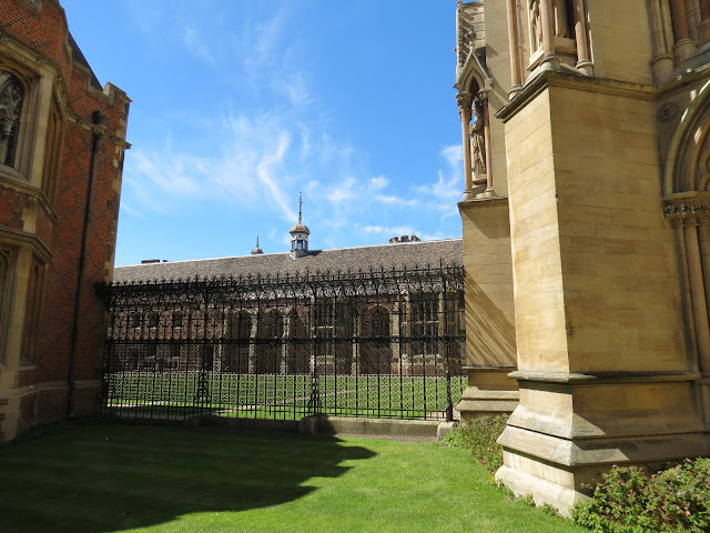 University of Cambridge college lawn