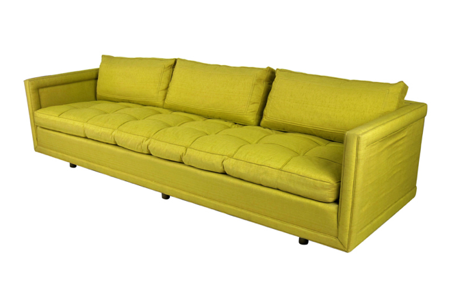 Far East Collection Tuxedo Sofa By Baker (circa 1950s) 1stDibs.com, $7,500