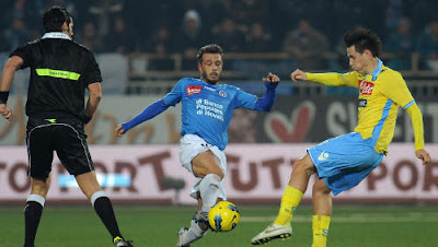 Novara Napoli 1-1 highlights