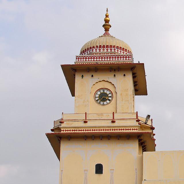 Tour avec horloge au City Palace de Jaipur