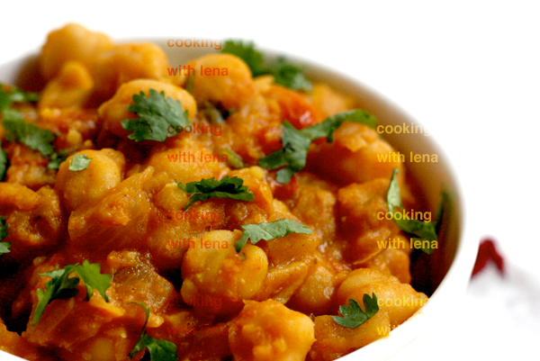 Chana / Chole masala