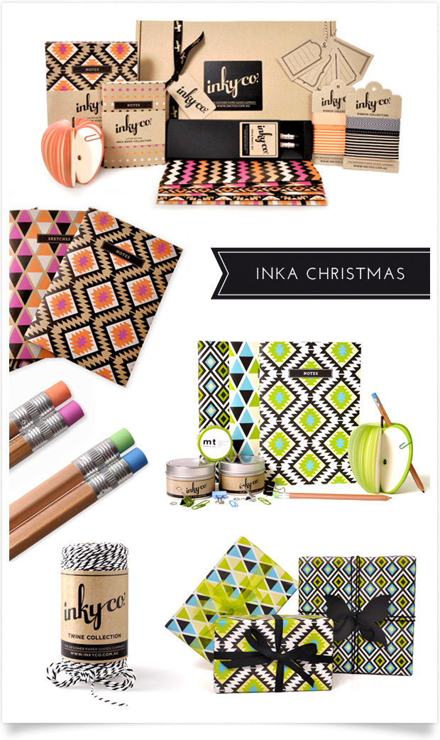 Inka Christmas with Inky Co.