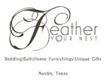COTE DE TEXAS SPONSOR:  FEATHER YOUR NEST